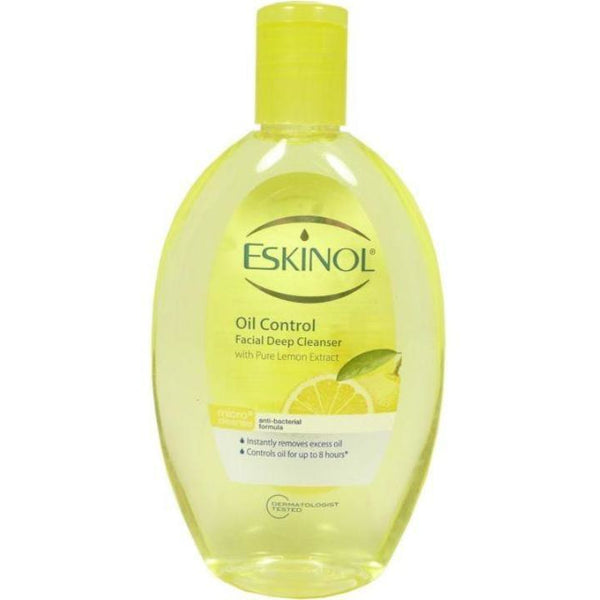 Eskinol Oil Control Facial Deep Cleanser with Pure Lemon Extract 225ml - Asian Online Superstore UK