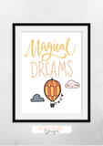 Magical Dreams - Print - Krafty Hands Designs