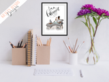 Blogger - Girl Boss Series -  Home/ Office Print - Krafty Hands Designs