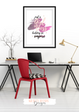 Girl Boss - Building an Empire - Home / Office Print - Krafty Hands Designs