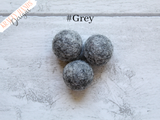 Felt Ball Garland - Scandinavian Sky - Krafty Hands Designs