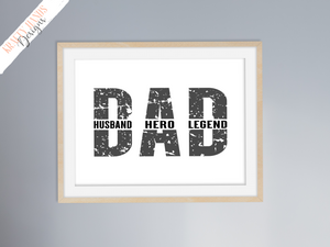 Father's Day - Hero Print