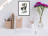 Lifestyle - Girl Boss Series - Home / Office Print - Krafty Hands Designs