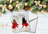 Personalised Family/Friends Christmas Cards