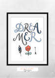 Dreamer - Print - Krafty Hands Designs