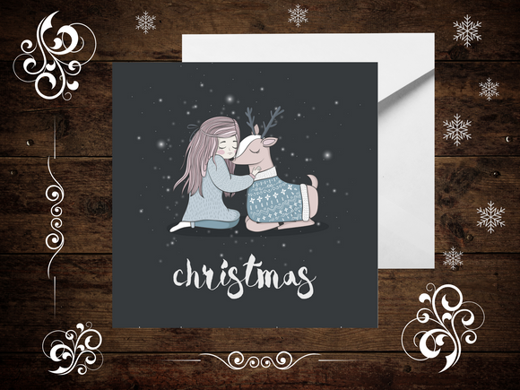 White Winter Christmas Cards