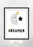 Scandinavian Dreamer- Nursery Print - Krafty Hands Designs