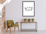 Crown - Home Print - Krafty Hands Designs