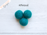 Felt Ball Garland - Tropical Sea - Krafty Hands Designs