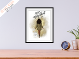 Miss Independent - Girl Boss Series - Home Print - Krafty Hands Designs