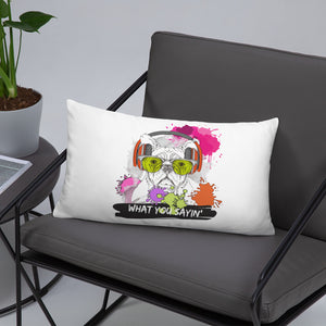 'What you sayin' Collection - Pillow - Krafty Hands Designs
