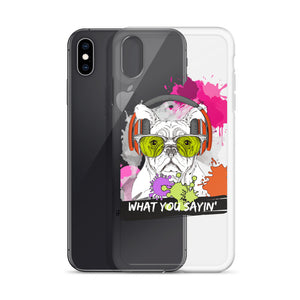 What You Sayin - iPhone Case - Krafty Hands Designs