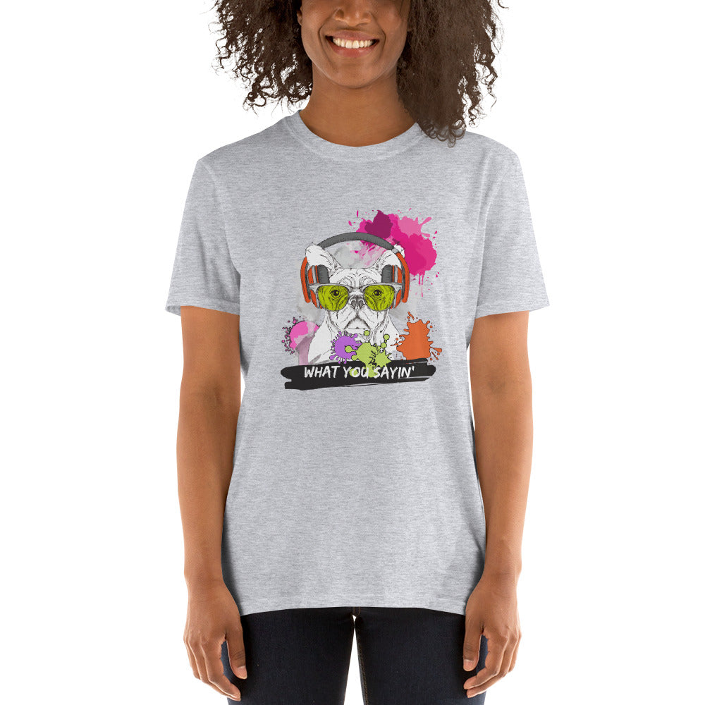 What You Sayin' - Short-Sleeve Women's T-Shirt - Krafty Hands Designs