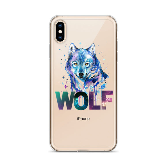 Wolf - iPhone Case - Krafty Hands Designs