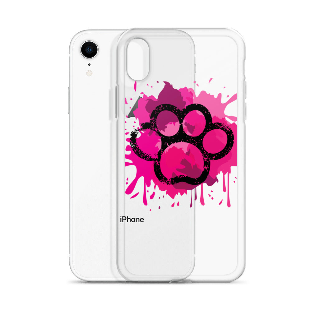 Paw Print - iPhone Case - Krafty Hands Designs