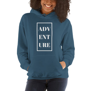 Adventure - Women's Hooded Sweatshirt - Krafty Hands Designs