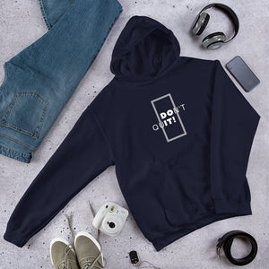 Do It - Men's Hooded Sweatshirt - Krafty Hands Designs
