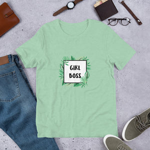 Girl Boss - Short-Sleeve Women's T-Shirt - Krafty Hands Designs