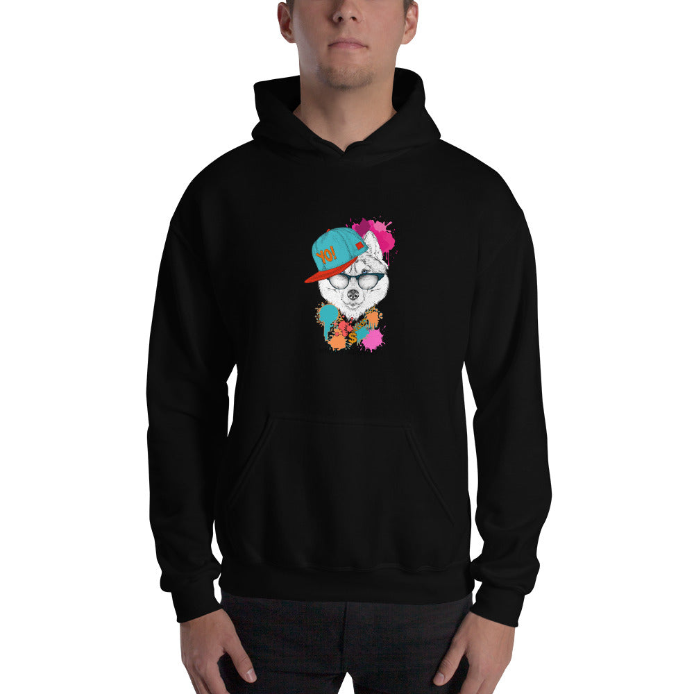 'What you sayin' - Hooded Men's Sweatshirt - Krafty Hands Designs