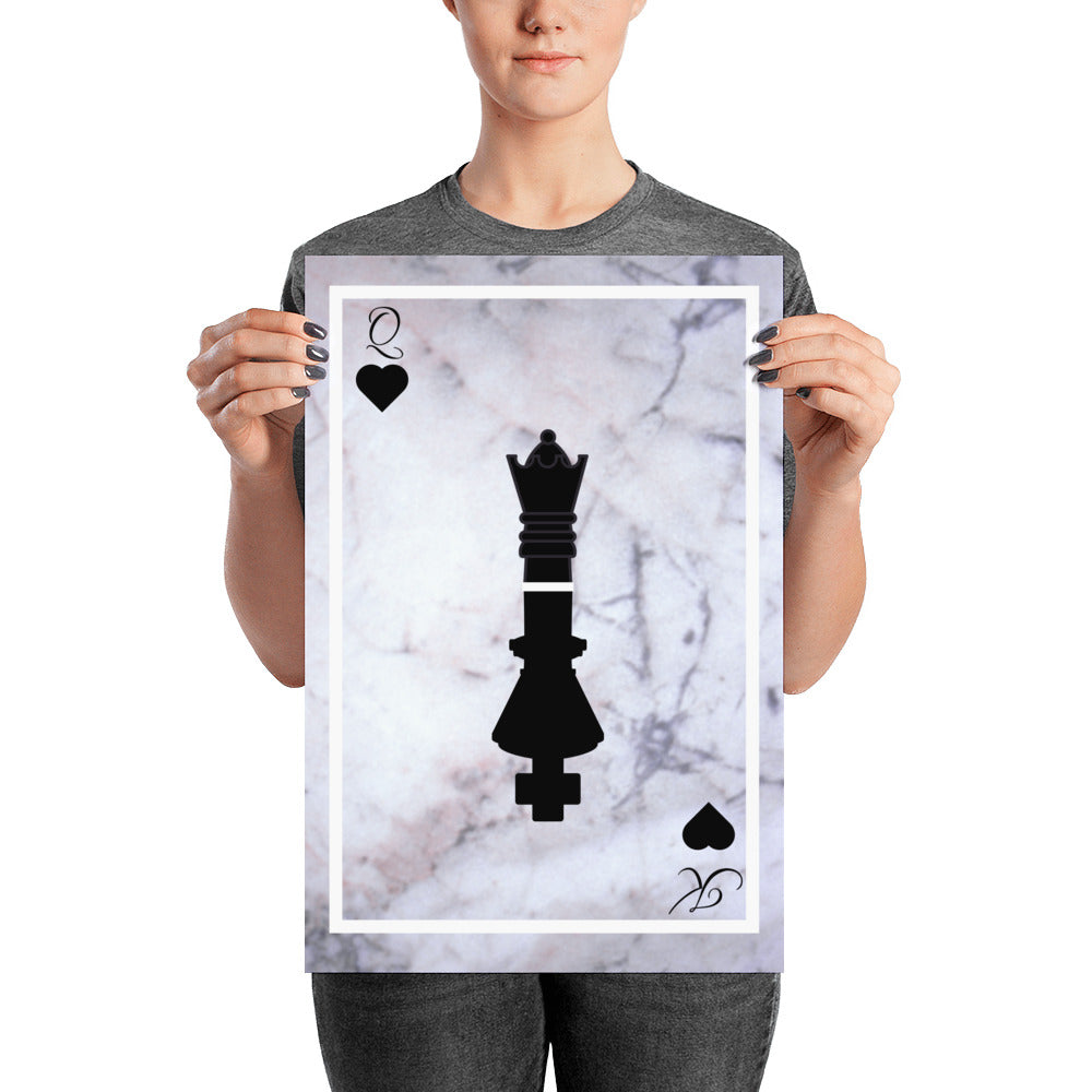 King & Queen -Poster - Krafty Hands Designs