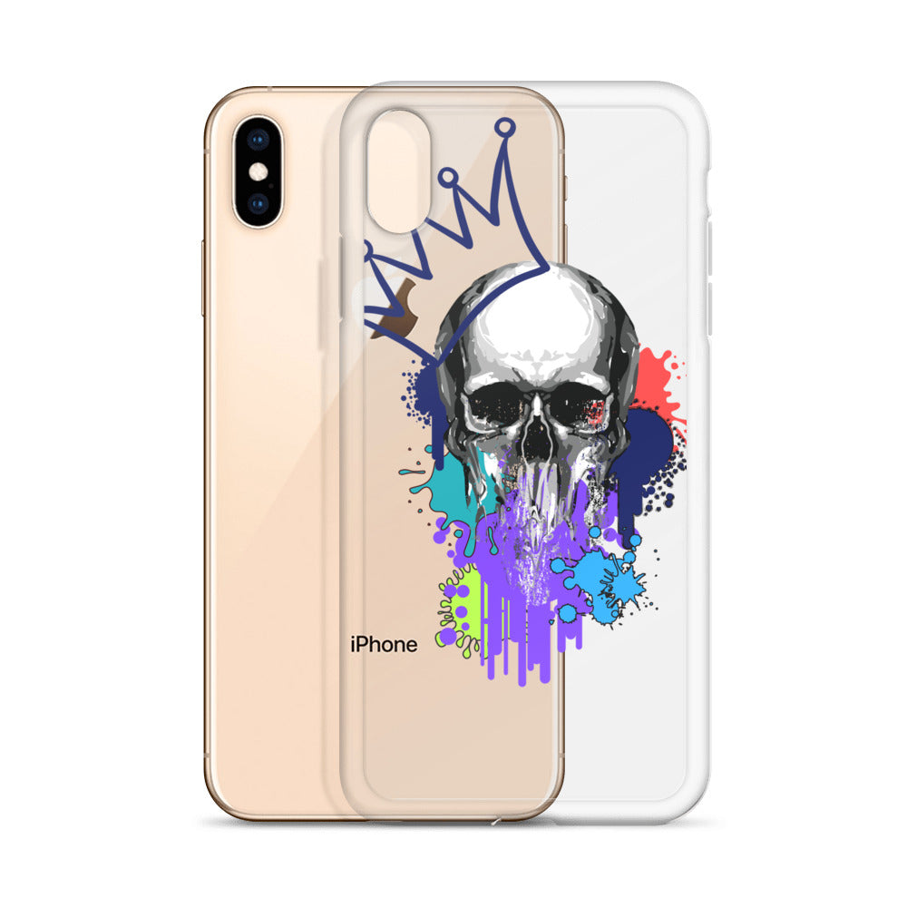 Skull King - iPhone Case - Krafty Hands Designs