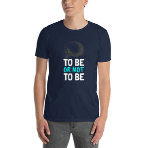 To Be - Short-Sleeve Men's T-Shirt - Krafty Hands Designs
