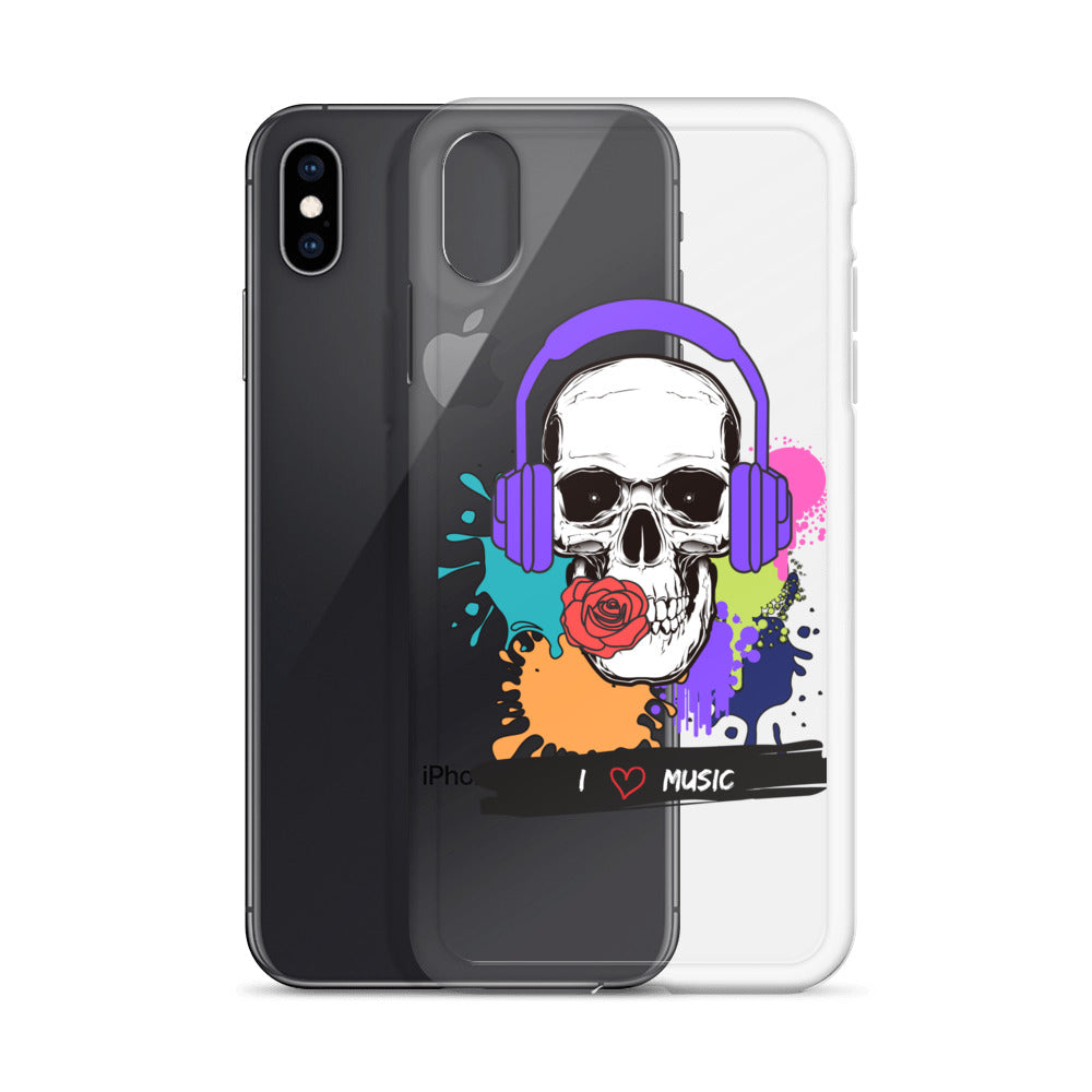 Skull - iPhone Case - Krafty Hands Designs