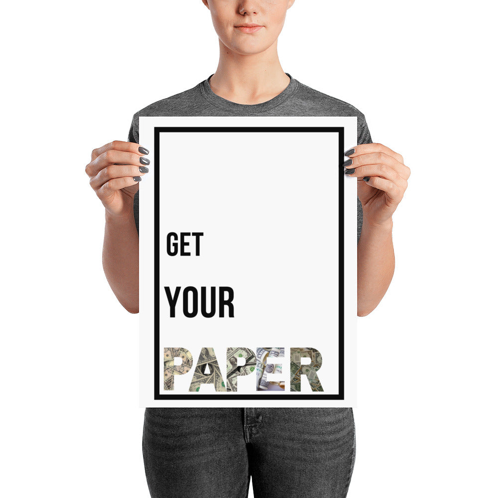 Get Your Paper - Poster - Krafty Hands Designs