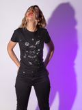 Moon & Back - Short-Sleeve Women's T-Shirt - Krafty Hands Designs
