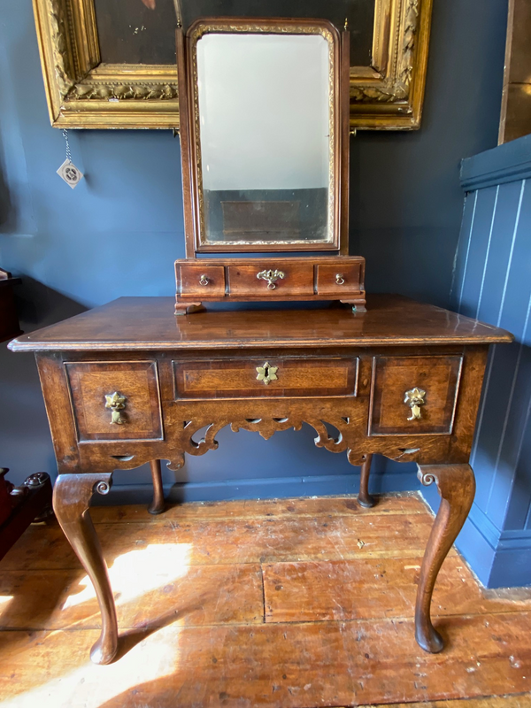 Beautiful George I Oak Lowboy Circa 1745 Stunning Example
