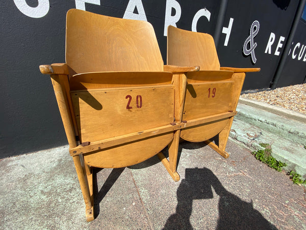 Mid Century Thonet Tom Cinema Seats