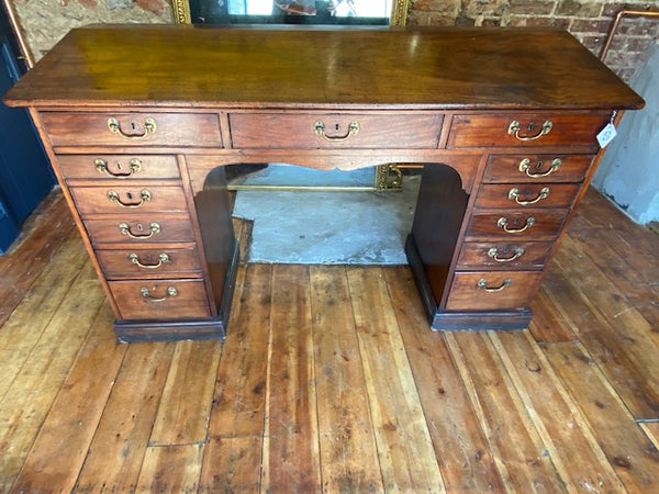 Beautiful Regency Clerks Desk Fabulous Patina Rare Oversize Version