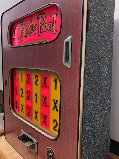 Vintage Gambling Fruit Machine