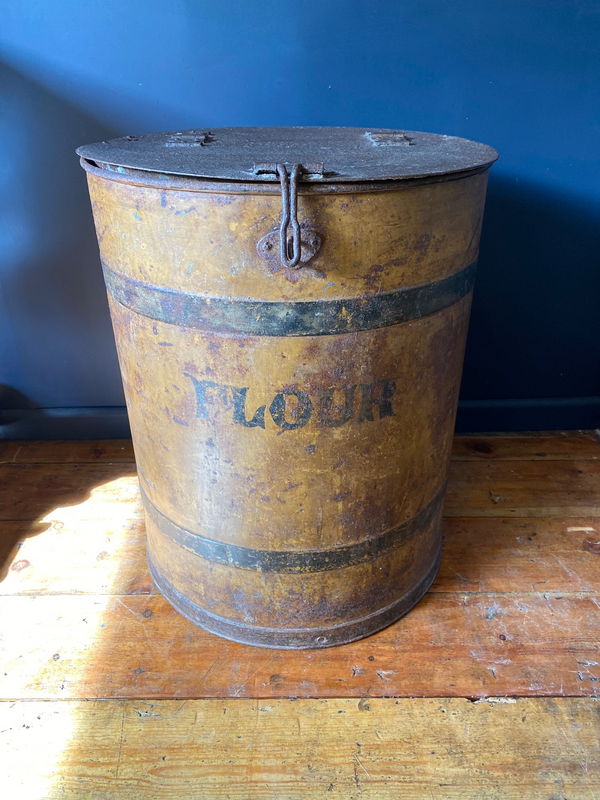 Early Victorian Antique Flour Barrel A Rare Survivor