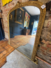 Large Antique Gilt & Gesso Mirror Of The Highest Quality