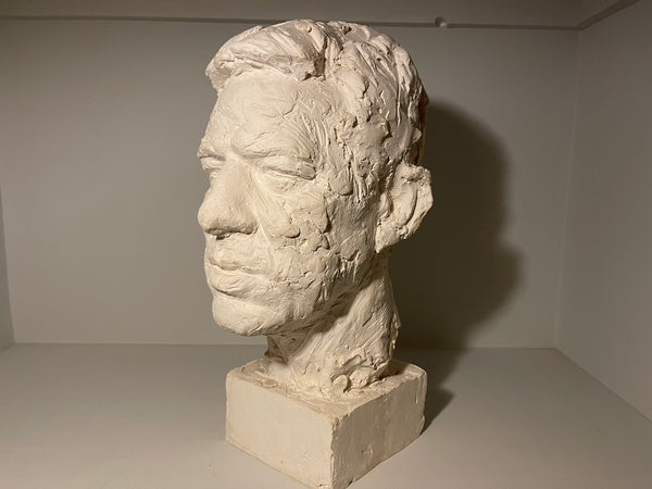 A rare and exceptional signed bust by the highly sought after Sculptor Irena  Sedeckla