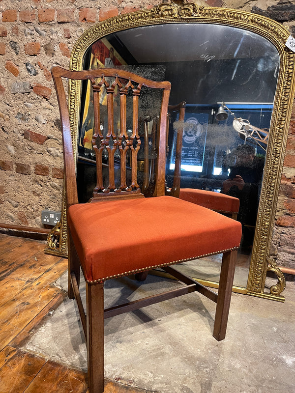 Georgian Chippendale Mahogany Chairs