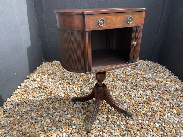 Georgian Mahogany Console Table Bedside Table
