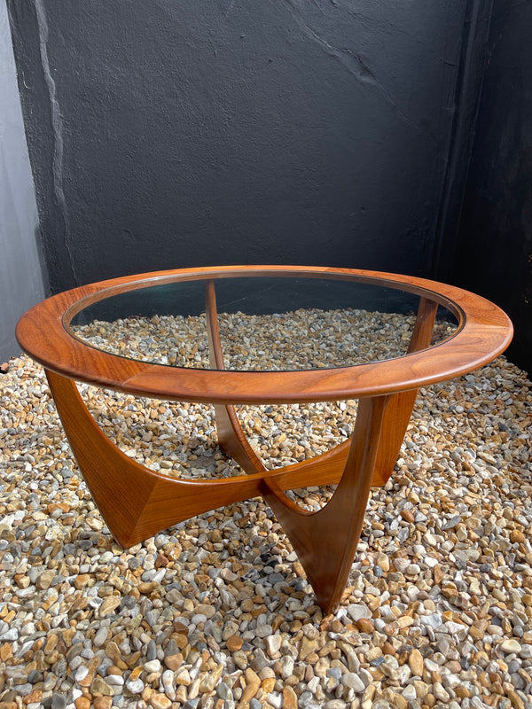 Midcentury Original Early Victor Wilkins Astro  Teak Coffee Table