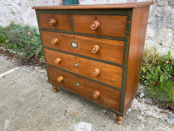 Early Victorian Chest Of Drawers