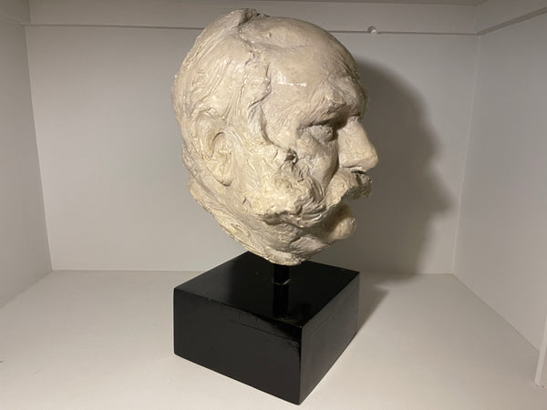 A Rare Sculptural Bust Of Actor Jimmy Edward's By Sought After Sculptor Irena Sedlecka