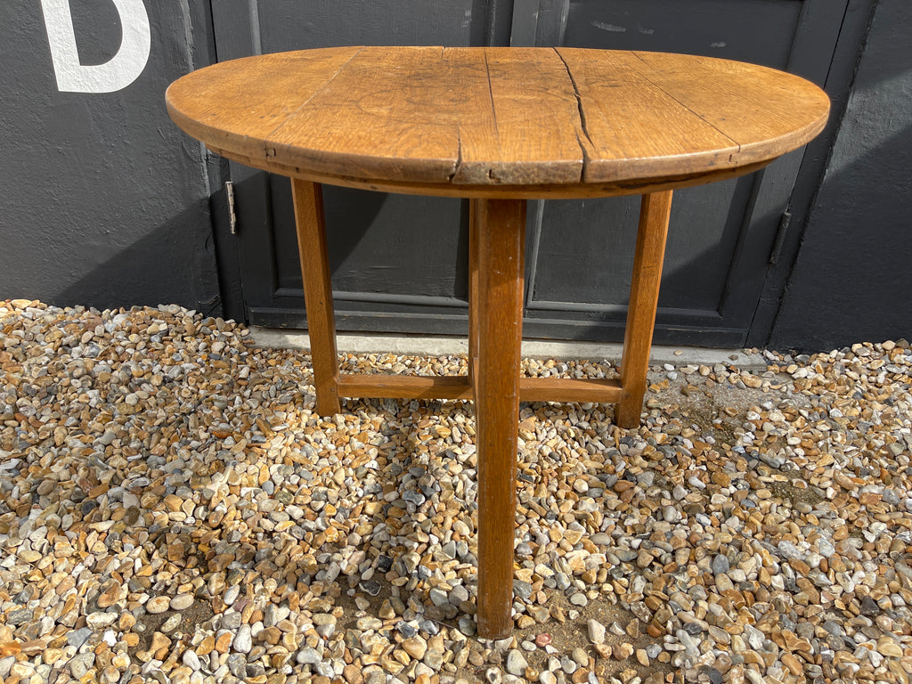 Antique French Vigneron Wine Table