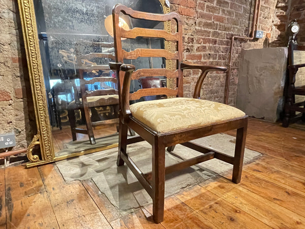 Early Antique Chippendale Mahogany Chair