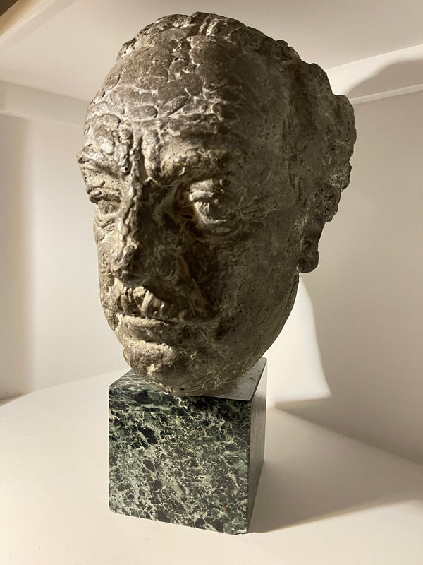 A rare and exceptional bust of Dr Dyson by the highly sought after Sculptor Josef Belsky Royal British Society Of Sculptors