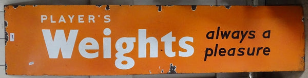 Vintage Enamel Advertising Sign