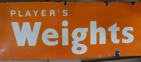 Large Vintage Enamel Adverting Sign