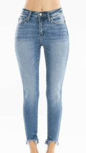KanCan Light Cropped Jeans