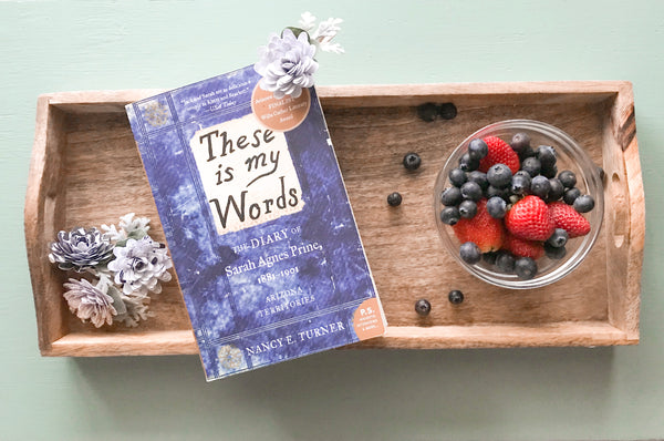 These is My Words book club book