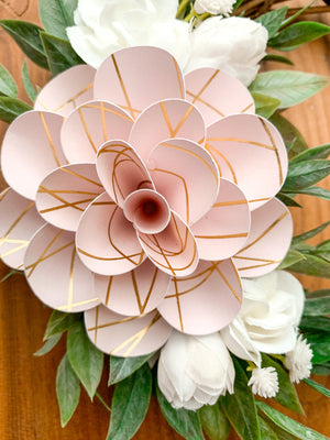 Blush Mini Wreath