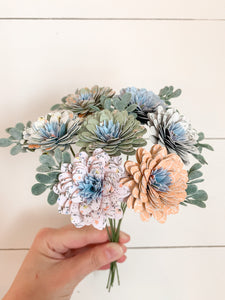 Cotton Fields Bouquet